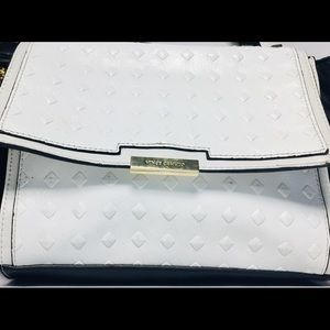 Vince Camuto Black and White  Cross Body Bag